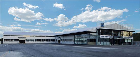 메르세데스-벤츠, 인천 서비스센터 확장 이전 신축 오픈