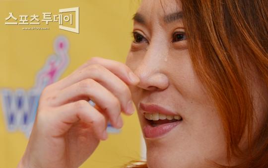 [포토] 정선민 '끝내 쏟아진 눈물'