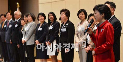 """[포토] 박근혜 """"당내 갈등으로는 정권 창출 불가"""""""