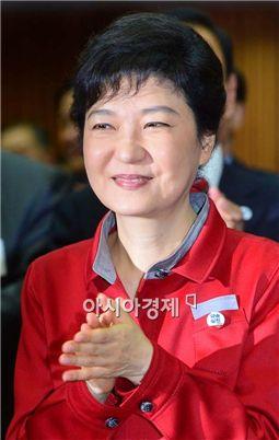 [포토] 환한 미소의 박근혜