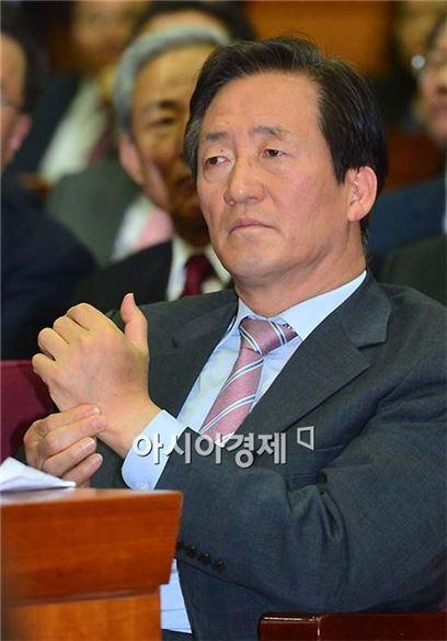 [포토] 생각 많은 정몽준