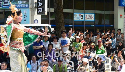[포토] 이색적인 지구촌 나눔 축제