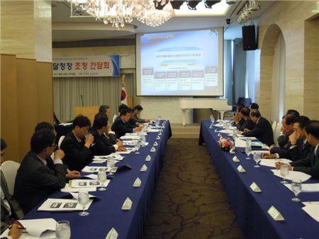 中企중앙회, 서울지방조달청장 초청 판로확대 방안 논의