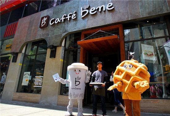 커피점이야 갤러리야? 카페베네 뉴욕점, 예술공간으로
