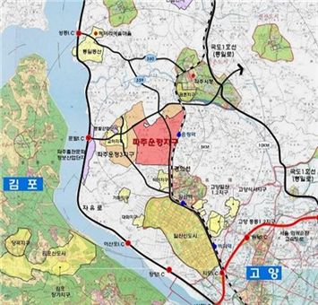 현재 3만여 가구가 입주완료한 상태로 경의선 복선전철이 운행중이며, 제2자유로가 개통됐다.
