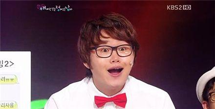 ▲ 최효종(출처: KBS 2TV '개그콘서트' 방송 화면)