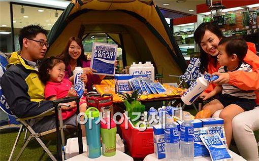[포토] 우리 가족 캠핑에는 포카리