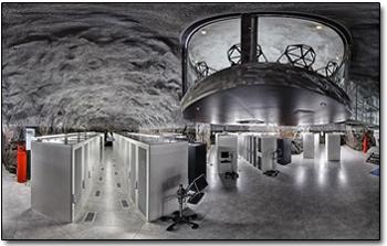 파이오넨 데이터센터(출처 : 데일리메일)
