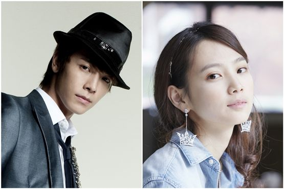 Super Junior's Donghae(left) and actress Yoon Seung-ah(right) [Channel A]