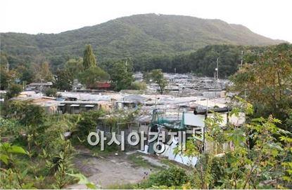 강남구 개포동 구룡마을 전경