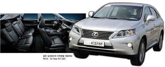 [SUV'용쟁호투' '바캉스로드'점령]패밀리엔 '싼타페''BMW 뉴 X3' 연인들엔 '코란도C''닛산 무라노'