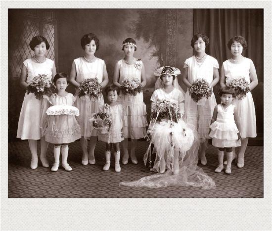 하와이 이주민 1.5세대 한국인인 차선비의 결혼식 (1925)