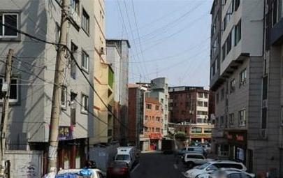 원룸과 고시원 등 1인 거주지가 몰려 있는 성북구 정릉동 일대
