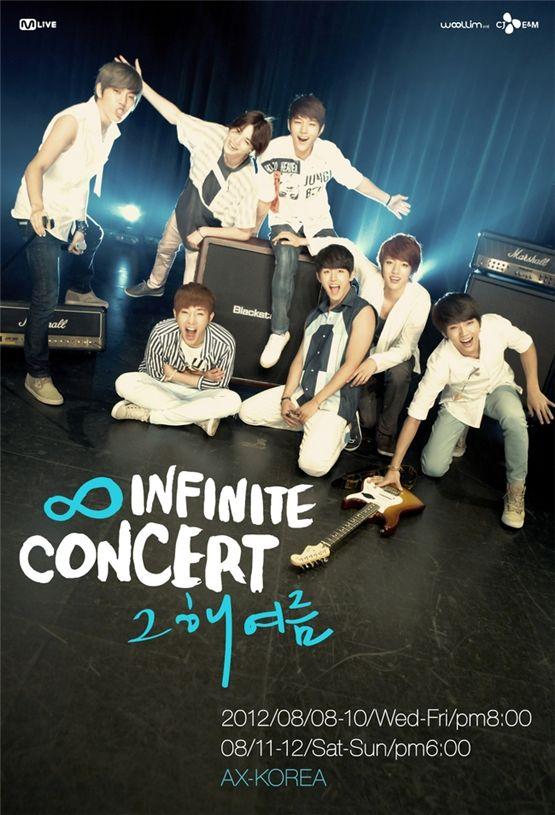 INFINITE's concert poster [Woollim Entertainment]