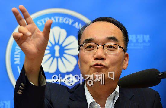 """박재완 """"가계빚 추가 해결책 준비중"""""""