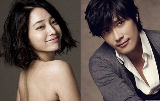 Actress Lee Min-jung (left) poses for a profile picture and actor Lee Byung-hun (right) poses for a profile picture. [MS Team Entertainment/BH Entertainment]