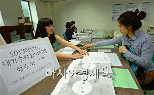 [포토]'2013학년도 수능 스타트~'