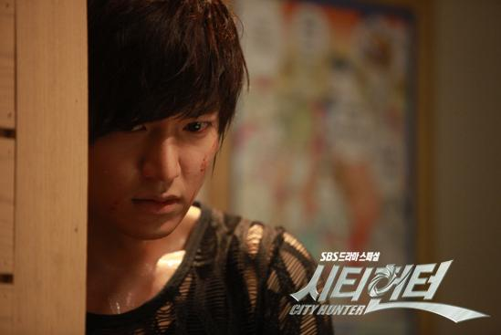 "A still shot of Lee Min-ho in SBS hit TV series ""City Hunter,"" aired between May and July in 2011. [SBS]"