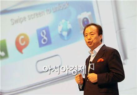 삼성 갤럭시S4, '적진' 미국서 공개···애플 정조준