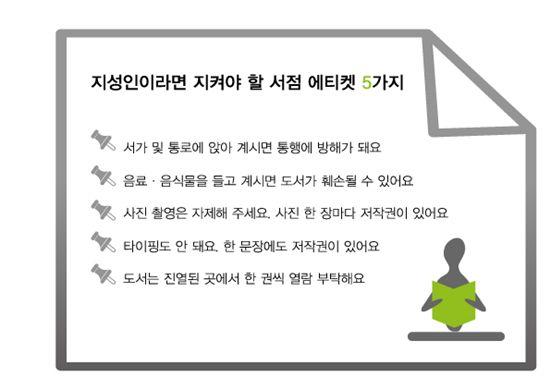 """""""새 책에 웬 손때가""""…대형서점 민폐 손님들"""