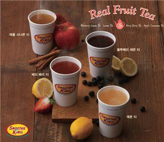 음료 한 잔을 마셔도 '몸' 생각…과일, 곡물 茶 봇물
