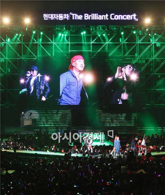"""[포토]""""더 크게 소리질러"""" 부산 아시아드 달군 DJ DOC"""