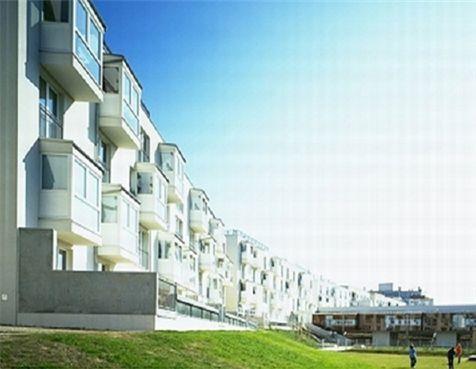 ▲ 지난 1997년 오스트리아 비엔나에 조성된 성평등 주택단지(약 370가구)의 모습.