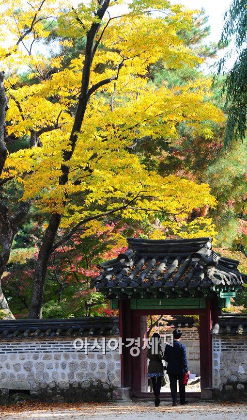 [포토]고즈넉한 가을