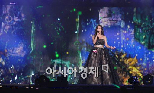 [포토]'K-POP 월드페스티벌' 해품달 OST 부르는 중국 참가자