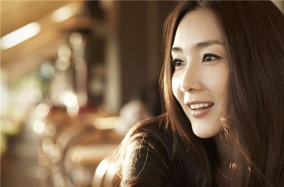 Actress Choi Ji-woo poses in her profile picture. [C,JW company]