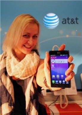 LG전자, '옵티머스 G' 미국 AT&T 출시