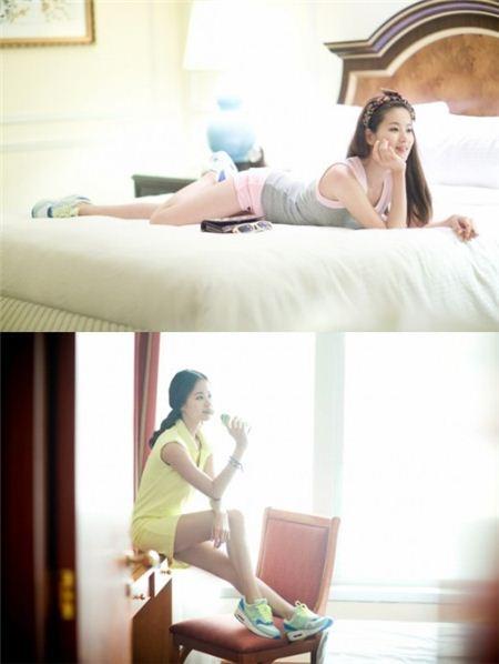 티걸 홍대광 응원 임미향, 섹시-청순 오가는 화보 '아찔'