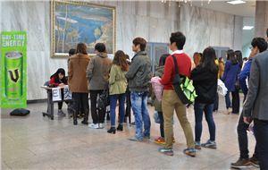 ▲메이커스 소셜 콘서트를 기다리는 학생들