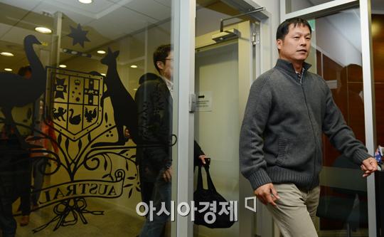 [포토] 구대성 '퍼스히트 소속으로 아시아시리즈 참가합니다'