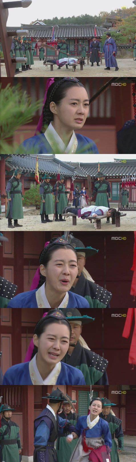 """'마의' 이요원, 조승우 곤장 처벌 당하자 오열 """"그만해"""""""