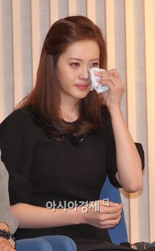 [포토]고아라, 눈물이 멈추지 않아!