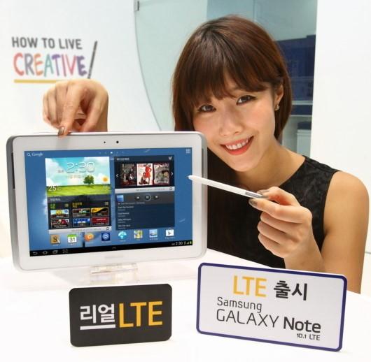 삼성전자, '갤럭시노트 10.1 LTE' 19일 출시