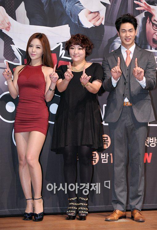 [포토]'막돼먹은 영애씨 11' 주역, 강예빈-김현숙-김산호