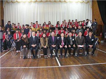 전남도교육청 교원정책과-안좌초교 자매결연