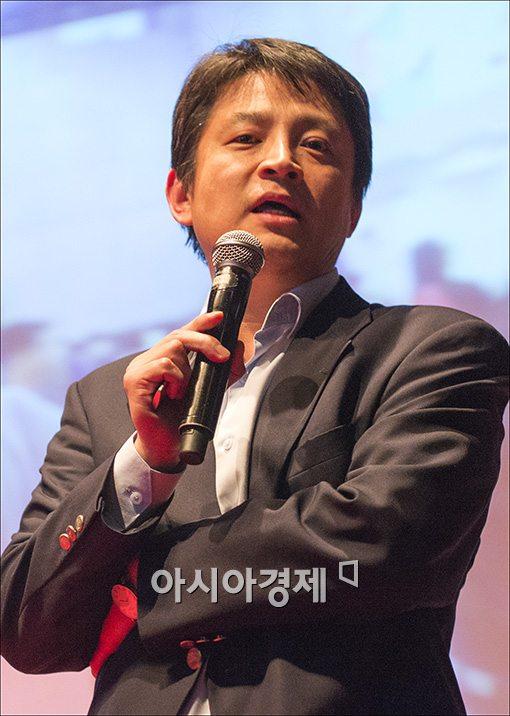 [포토]강연하는 박정민 T스토어사업부 본부장