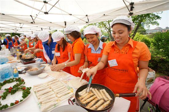다문화 요리 경연대회