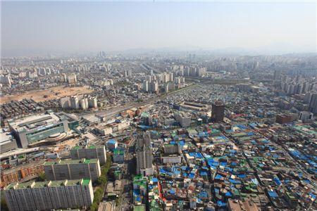 서울시내 전경