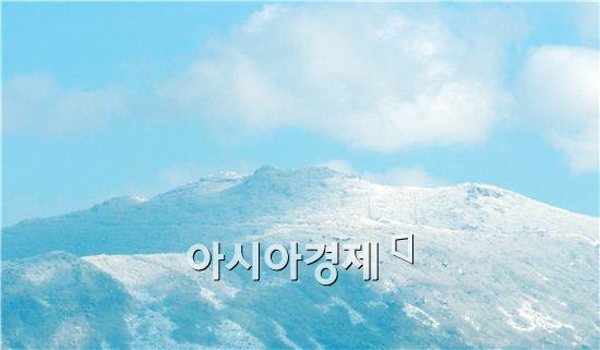 [포토]폭설이 만든 무등산 설경
