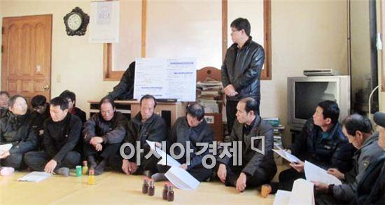 보성군, '선암 소하천' 수해복구사업 착수