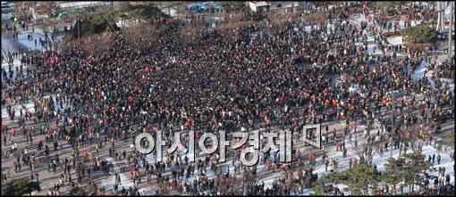 [포토]솔로 천국인 여의도 광장