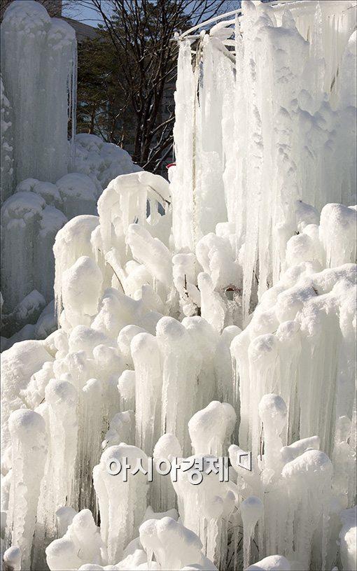 [포토]살벌한 얼음조각