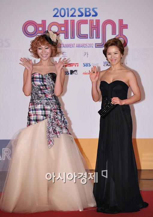 [포토]정주리-김지선, 드레스 예쁘죠?