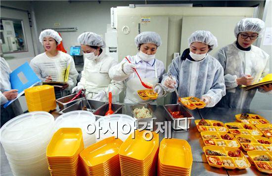 포항시, 집단급식소·식재료업체 합동 위생 점검