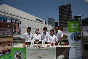 ▲CJ제일제당 비빔밥유랑단 미국 행사