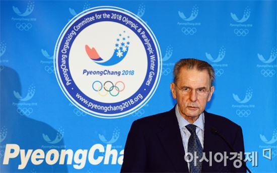 자크 로게 IOC 위원장[사진=정재훈 기자]